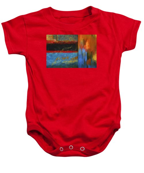 Color Abstraction Li  Baby Onesie