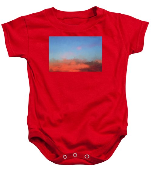 Color Abstraction Xlvii - Sunset Baby Onesie
