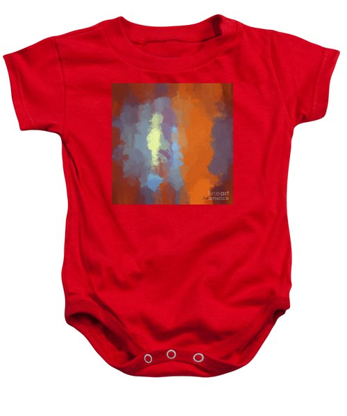 Color Abstraction Xxiii Sq Baby Onesie