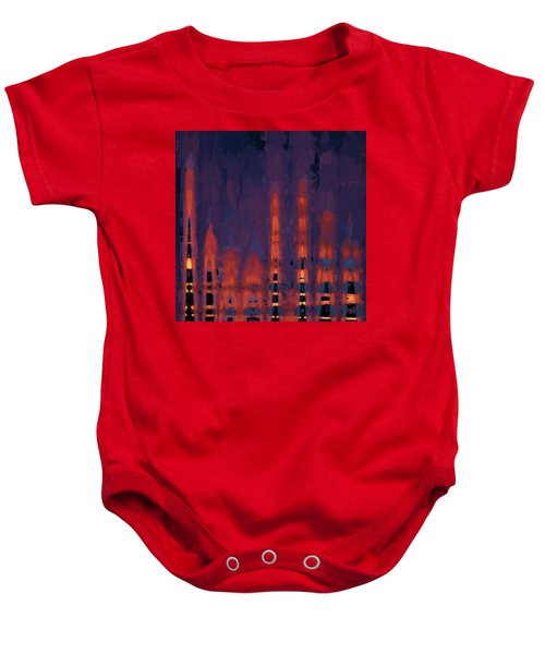 Color Abstraction Xxxviii Baby Onesie