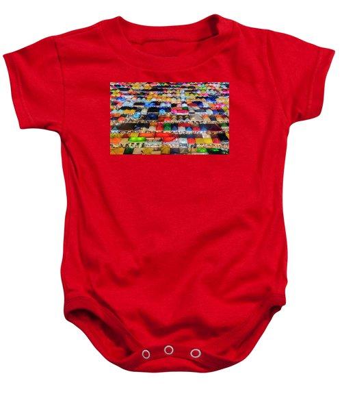 Colourful Night Market Baby Onesie