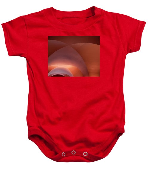 Coral Arched Ceiling Baby Onesie