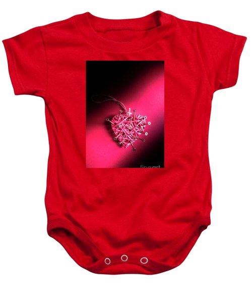 Corrosion Of Emotion Baby Onesie