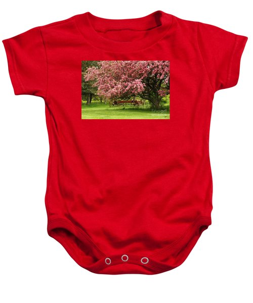 Country Wagon Baby Onesie