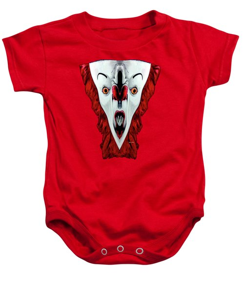 Creepy Clown 01215 Baby Onesie