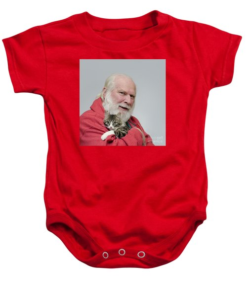 David And Ms Alexia  Square Baby Onesie