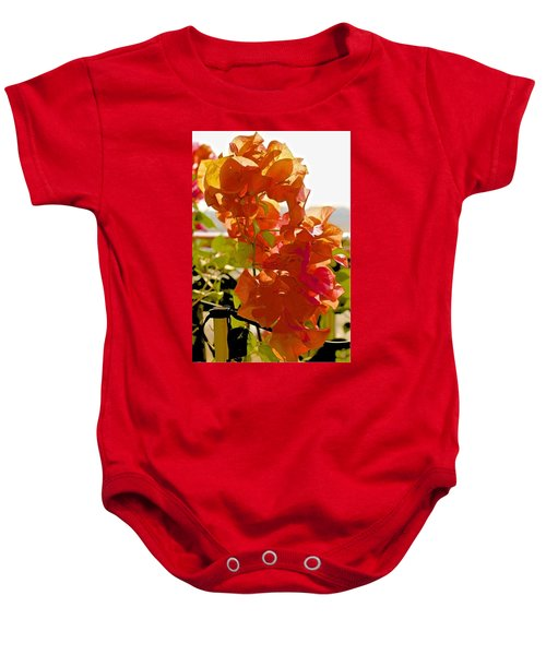 Desert Orange Baby Onesie