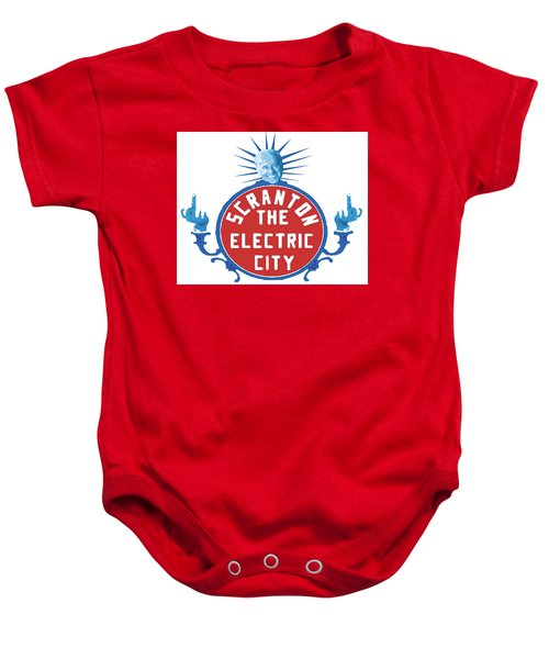 Diamond Joe Baby Onesie by Michael Coolbaugh