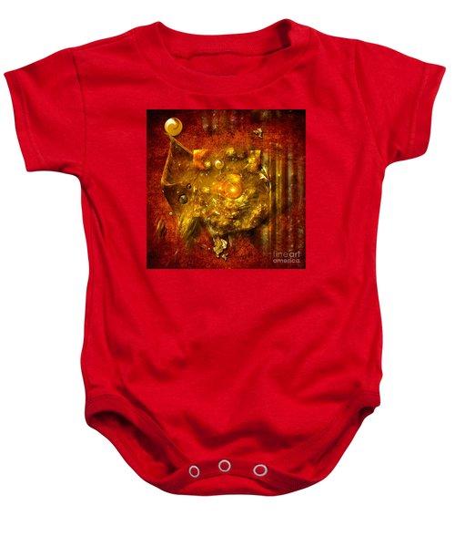 Dimension Hole Baby Onesie
