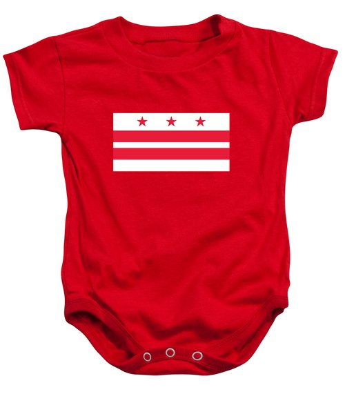 District Of Columbia Baby Onesie by Frederick Holiday