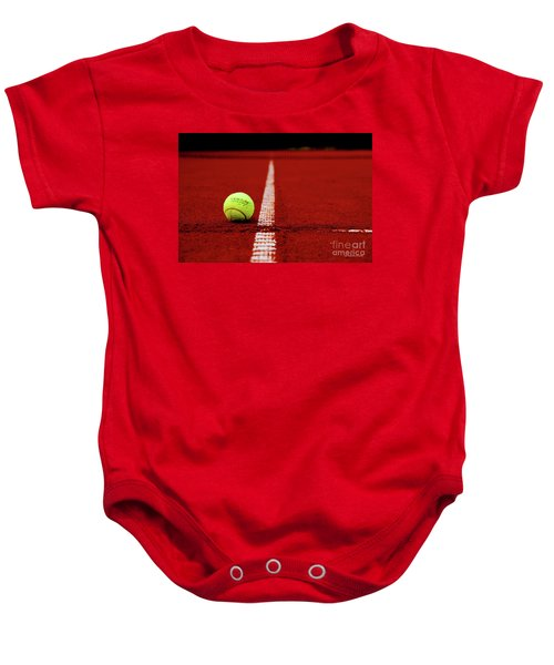 Down And Out Baby Onesie