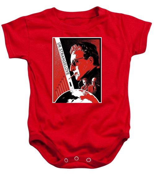 Dr. Strangelove Theatrical Poster Number Three 1964 Baby Onesie