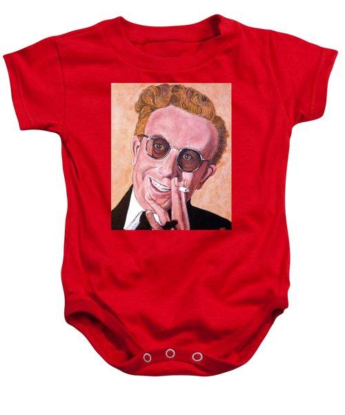 Dr Strangelove  Baby Onesie by Tom Roderick