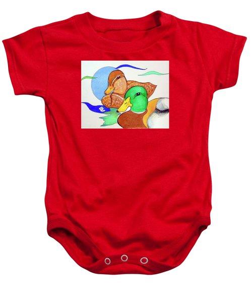 Ducks2017 Baby Onesie