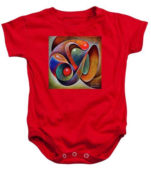 Dynamic Mantis Baby Onesie