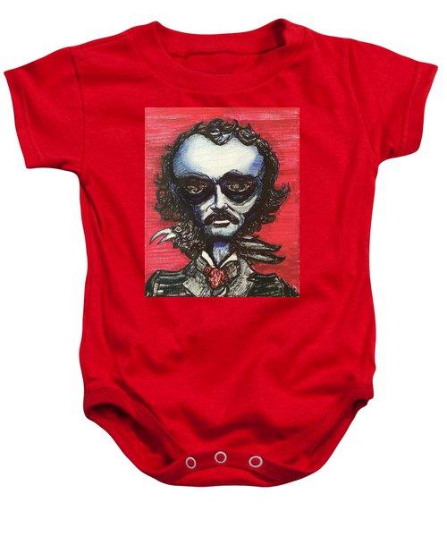 Edgar Alien Poe Baby Onesie