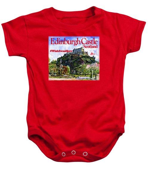 Edinburgh Castle Baby Onesie