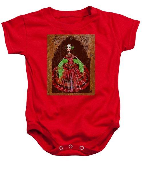 El Dia De Los Muertos Baby Onesie
