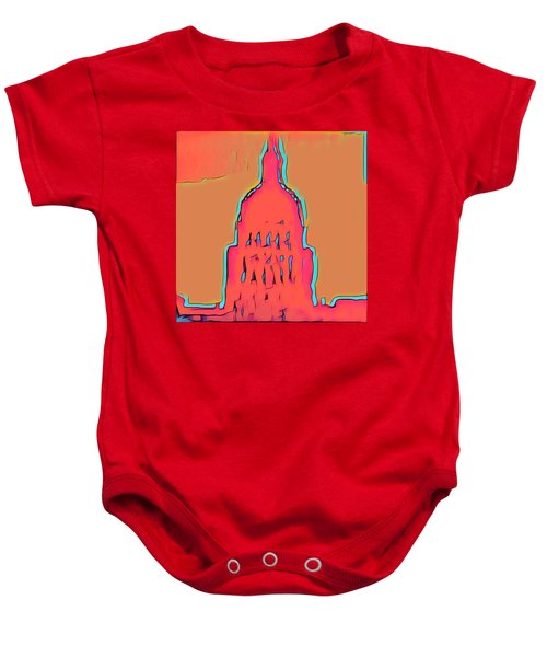 Electric Austin Baby Onesie