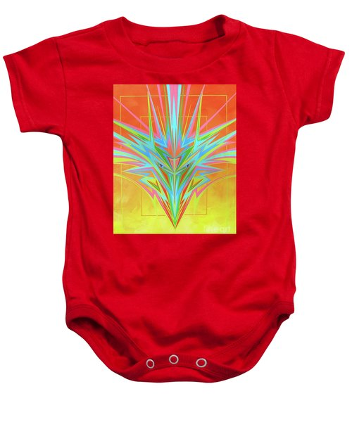 Electric Personality  Baby Onesie