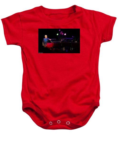 Elton - Enjoying The Show Baby Onesie