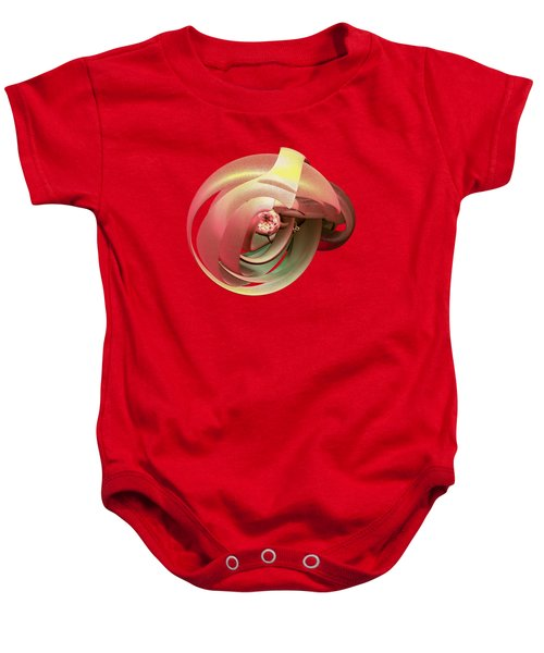 Embryo Abstract Baby Onesie