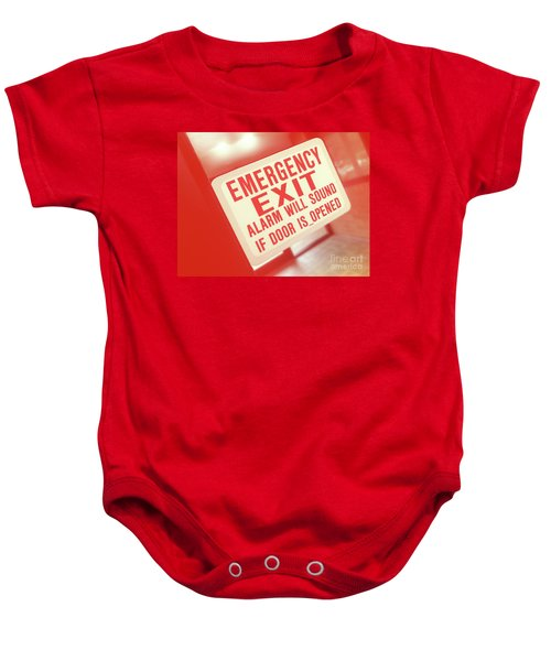 Emergency Baby Onesie