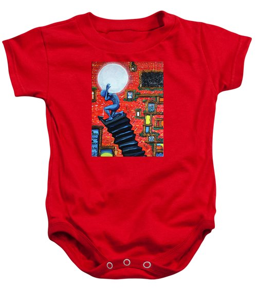 Energy Flow, The Active Space And The Effects Of The Rising Moon Baby Onesie