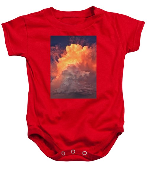 Epic Storm Clouds Baby Onesie