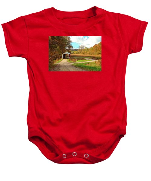 Fall Harvest - Parke County Baby Onesie