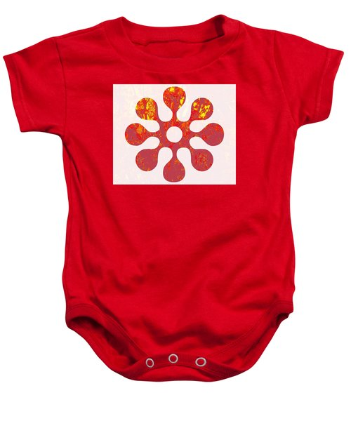 Fall Leaves #11 Baby Onesie