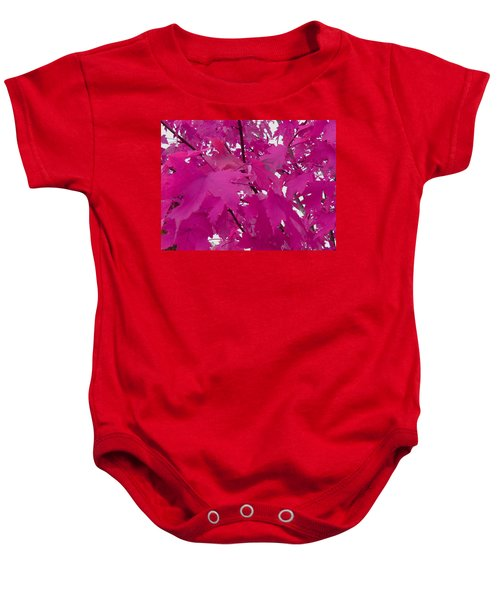 Fall Leaves #5 Baby Onesie
