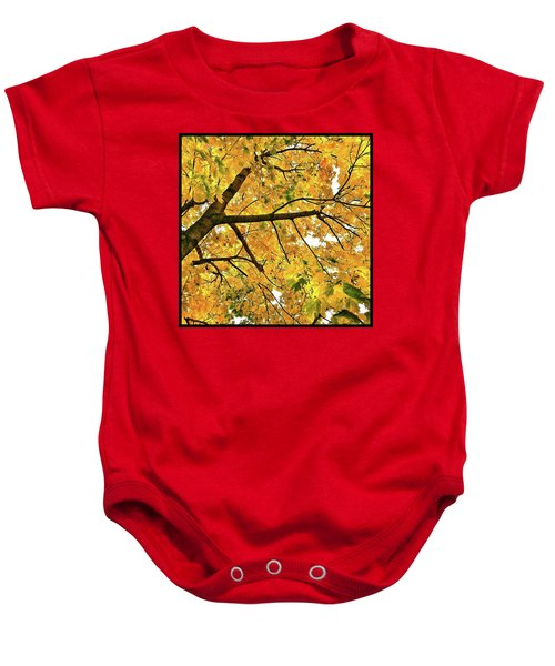 Fall On William Street Baby Onesie