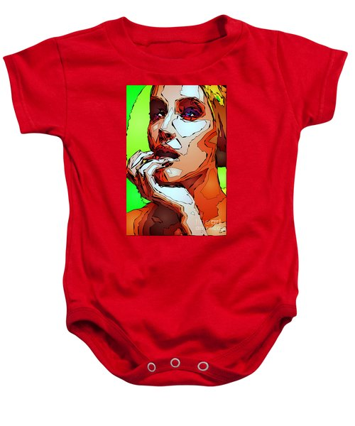 Female Expressions Baby Onesie