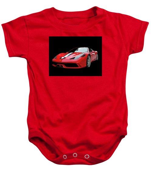 Ferrari 458 Speciale Aperta Baby Onesie