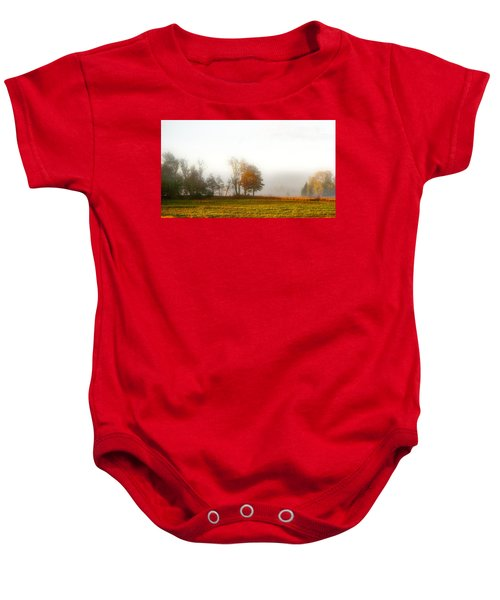 Field Of The Morn Baby Onesie