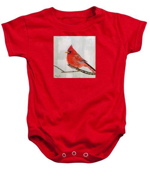 Firey Red Baby Onesie