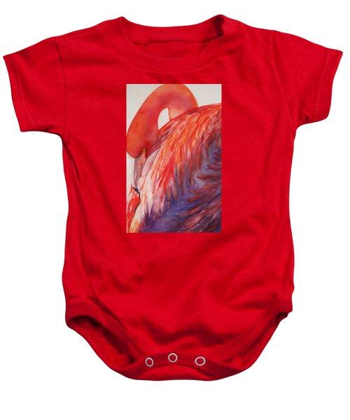 Flamingo Baby Onesie