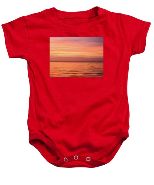 Florida Keys Sunset Impressions Baby Onesie