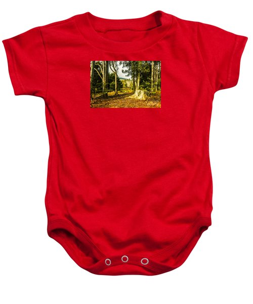 Forest Clearing In The Woods Baby Onesie