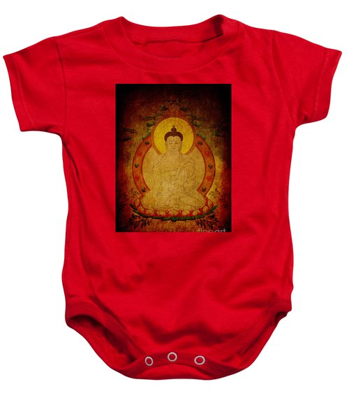 Fragmentary Thangka Baby Onesie