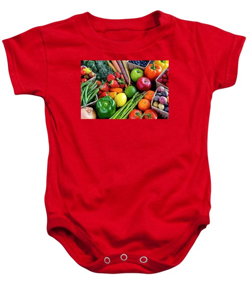 Fresh From The Farm Baby Onesie