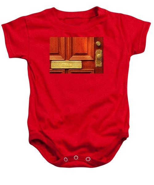 Front Door French Quarter Baby Onesie
