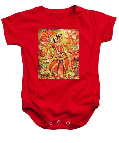 Ganges Flower Baby Onesie by Eva Campbell