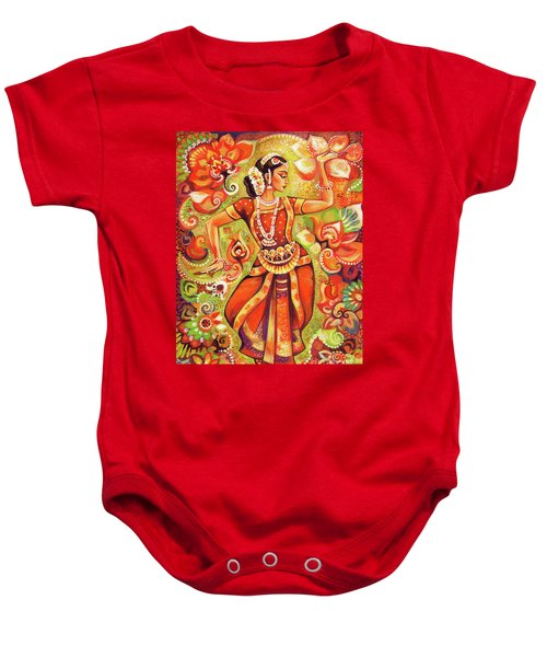 Ganges Flower Baby Onesie