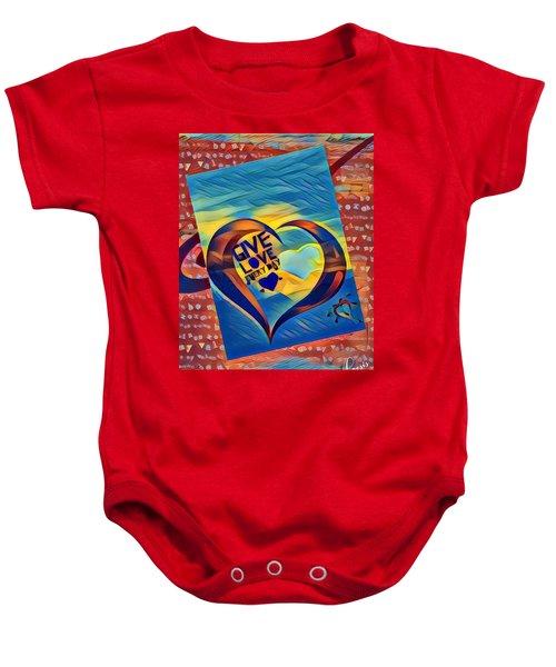 Give Love Baby Onesie