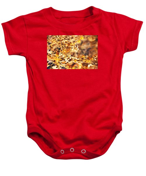 Gold Rush Baby Onesie by Jose Rojas