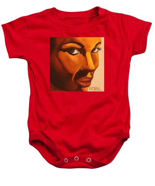 Golden Lady Baby Onesie