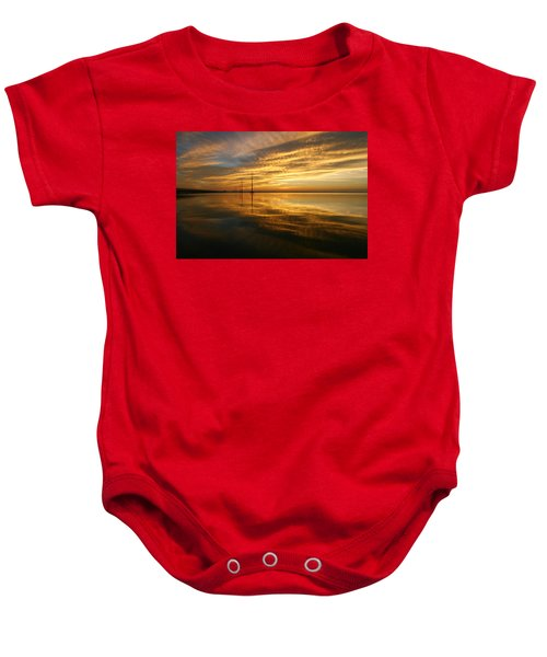 Golden Light Baby Onesie