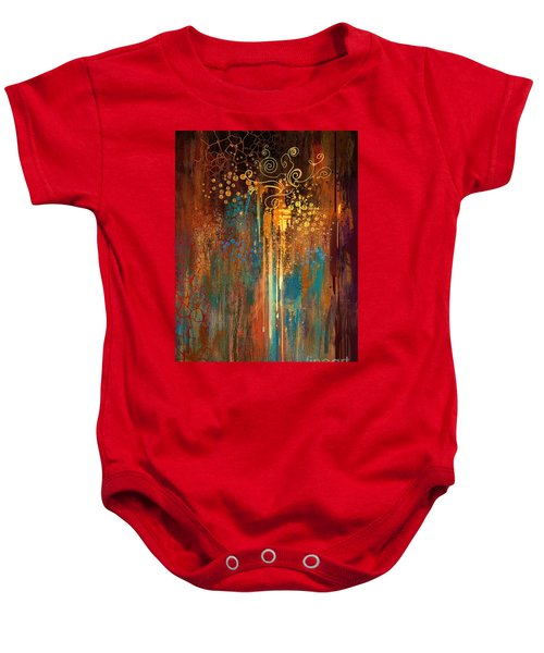 Baby Onesie featuring the painting Growth by Tithi Luadthong